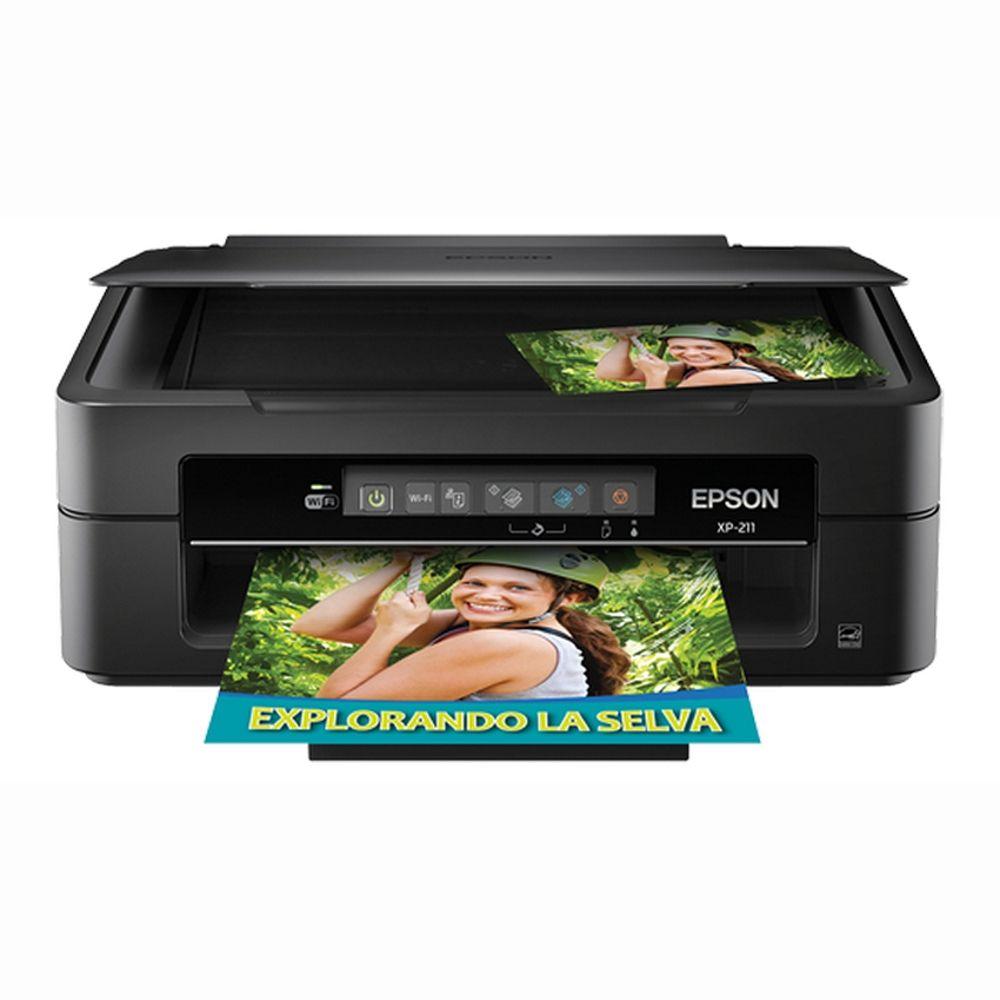 Multifuncional Epson Impresora De Inyección Escáner Copiadora Y Wi Fi Mod C11cc90201 Hasta Agotar Existencias Impresora Red Wi Fi Cartuchos De Tinta