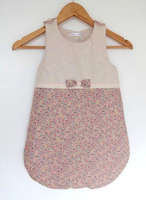 Gigoteuse b b vieux rose tissu liberty of london la f e turbulette couture et tricot - Chambre fille vieux rose ...