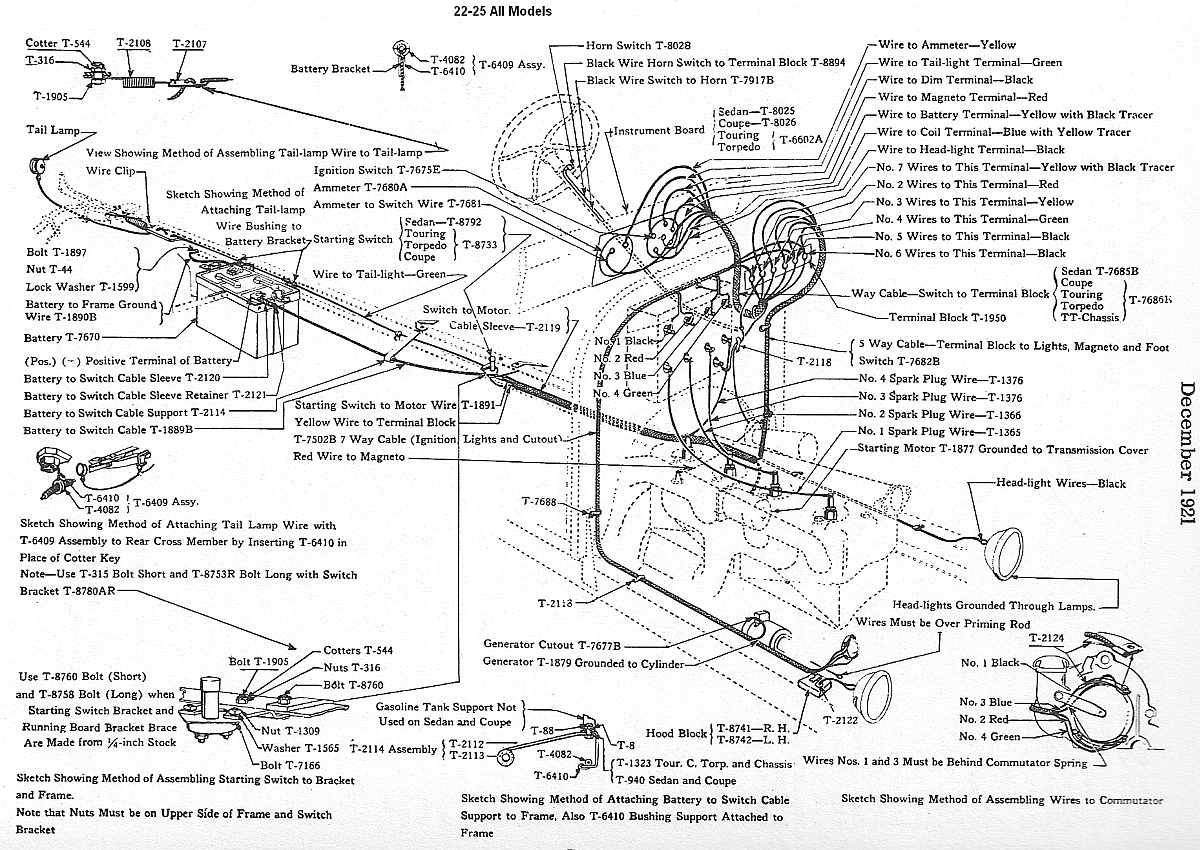model t wiring harness wiring library ford wiring harness clips library of wiring diagrams  [ 1200 x 850 Pixel ]