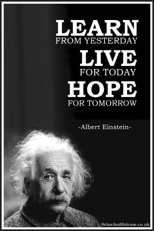 "Live For Today Quotes Amusing Quote Of The Day ""Learn From Yesterday Live For Today Hope For"