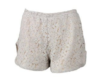 Discount Lovers + Friends Womens Beige Woodstock Lace Mini Shorts S Special Prices - http://bestcomparemarket.com/discount-lovers-friends-womens-beige-woodstock-lace-mini-shorts-s-special-prices