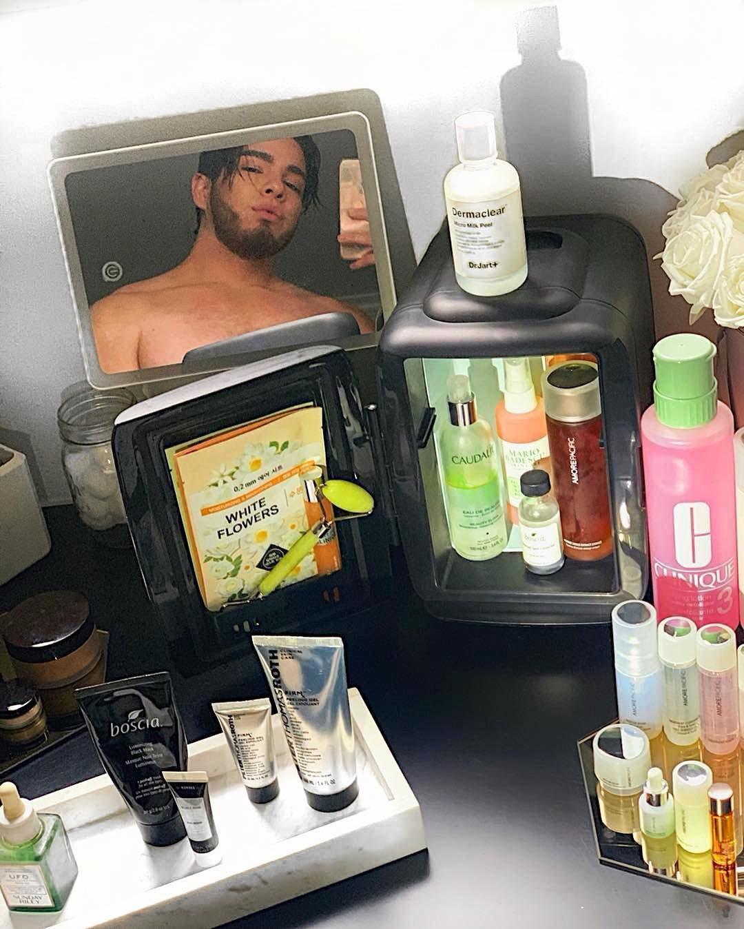 Cooluli skincare fridge skin care beauty skin care