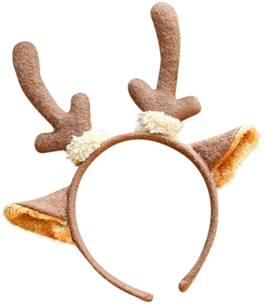 Brand New Reindeer Antlers Christmas Holiday Headband Accessory