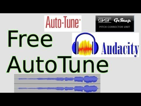 Free AutoTune for Audacity (GSnap) - YouTube SOLUTION