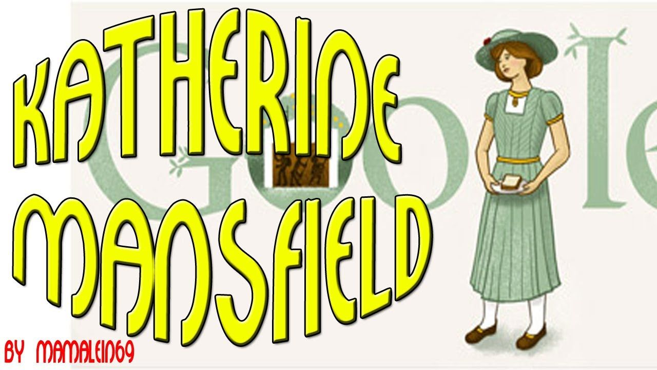 On October 14th 2013 Google celebrates Katherine Mansfield