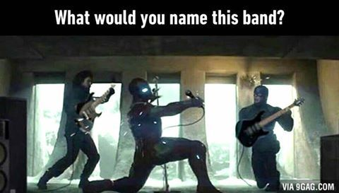 Can you name this band? #civilwar #cosplay #costume #marvel   Marvel
