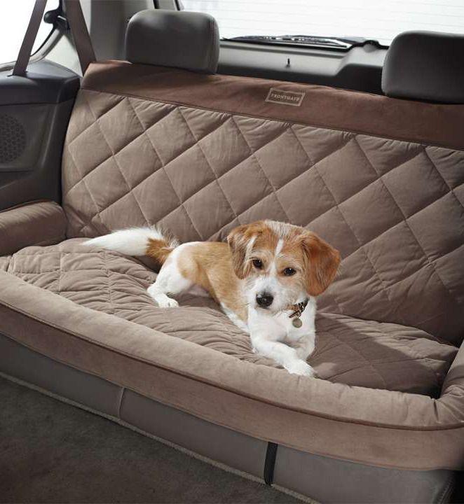 quilted bolster backseat car protector. Black Bedroom Furniture Sets. Home Design Ideas