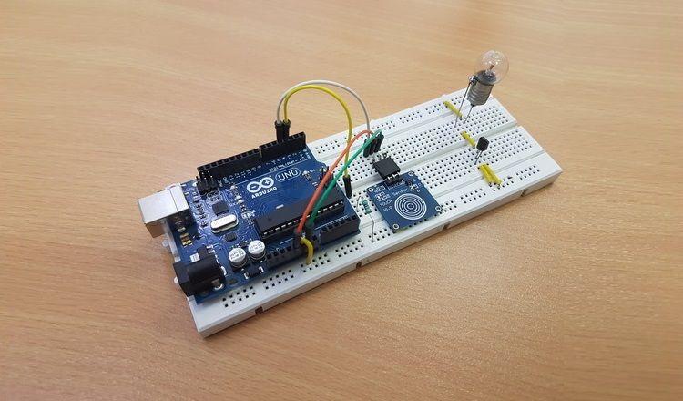 Schema Elettrico Dimmer : Touch dimmer switch circuit using arduino strega bacheca