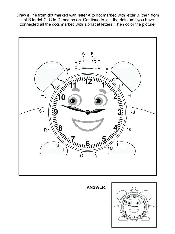 Free Dot To Coloring Pages Printable And Page With