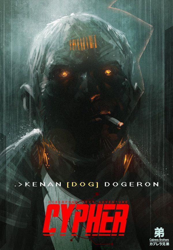 Cypher: cyberpunk text adventure by artbycarlos.deviantart.com