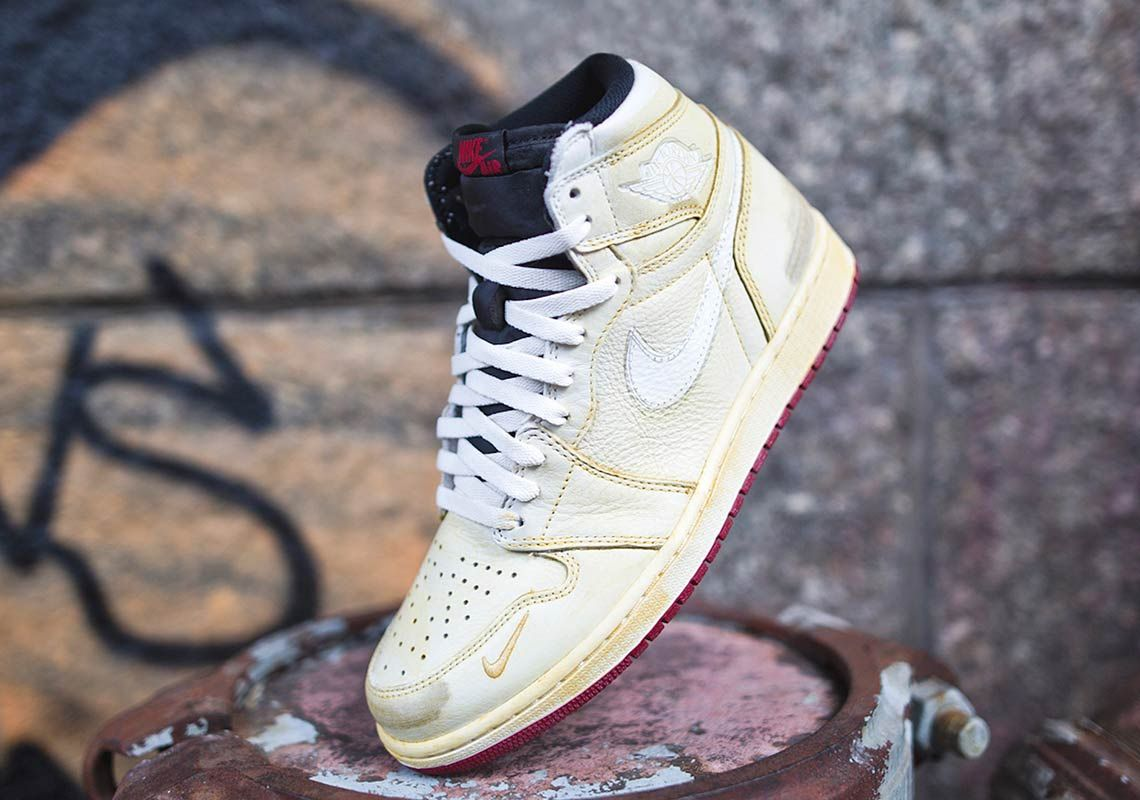 Nigel Sylvester Reveals The Destroyed Air Jordan 1s That Inspired His  Collaboration  e48f25670