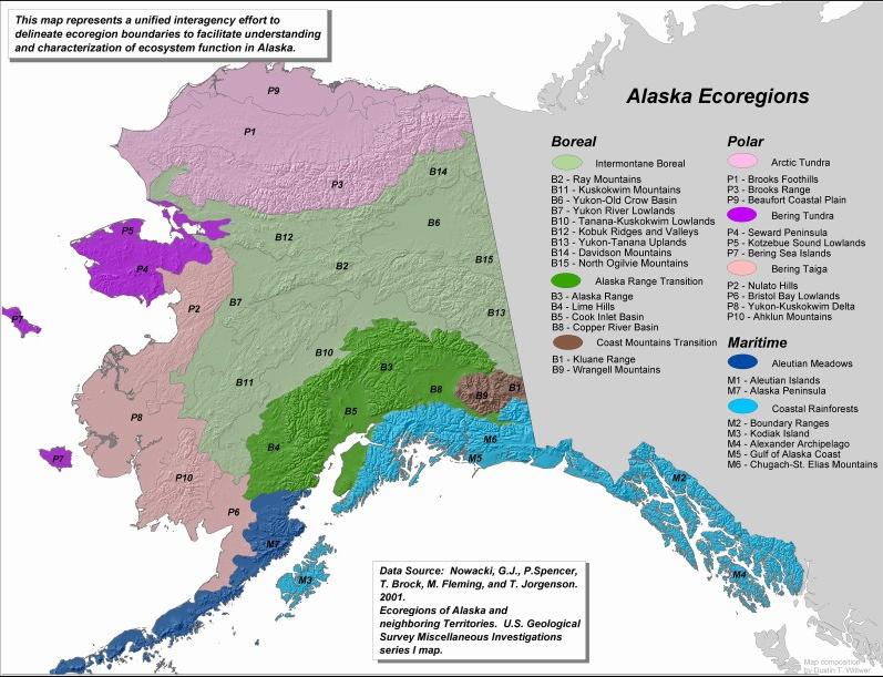 Glacier Bay Alaska USA GEO 121 Wiki Fall 2011 Bioregionalism