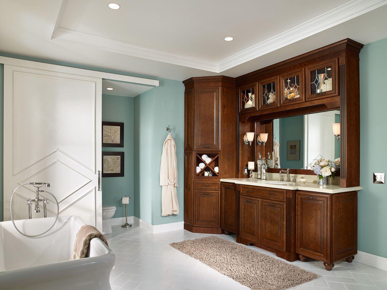 Waypoint Style In Cherry Chocolate Claze Bath u Kitchen