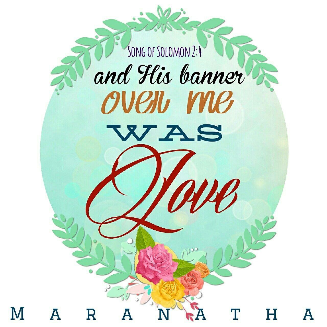 Song of Solomon 2:1-7 (KJV) #MARANATHA | ❤ Song of Solomon