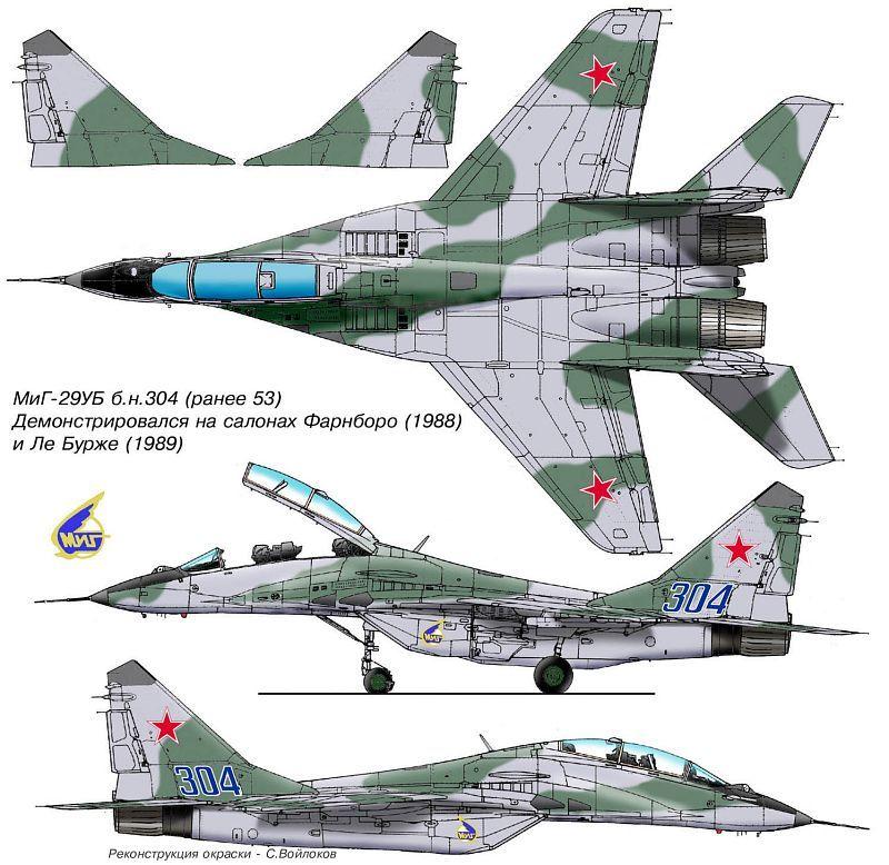 MiG MiG-29/MiG-33/MiG-35 Fulcrum