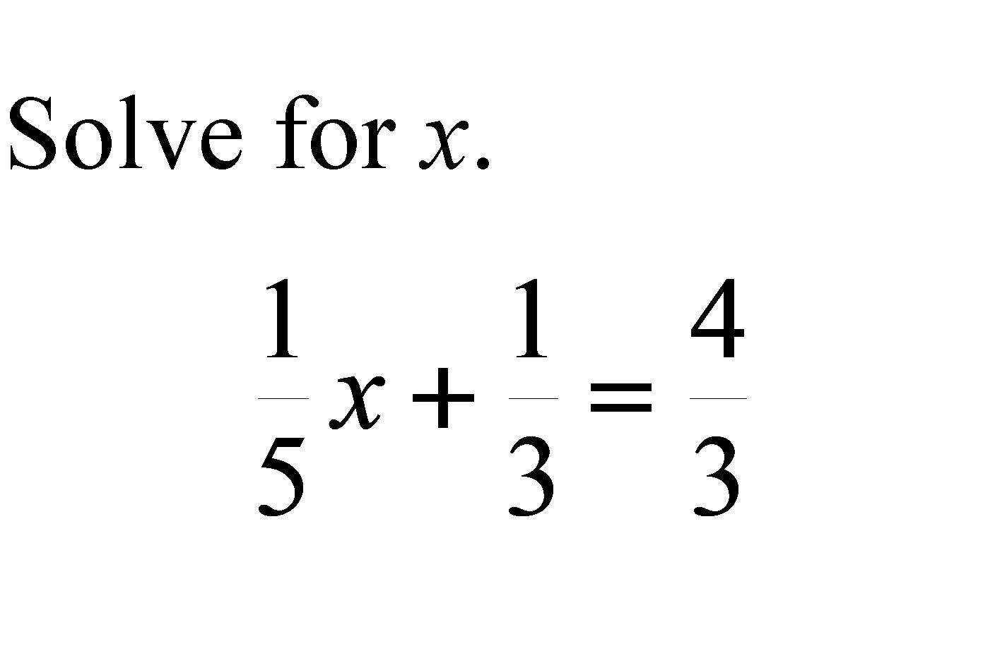 In This Page We Are Going To Discuss About Equations With Fractional Coefficients Concept In