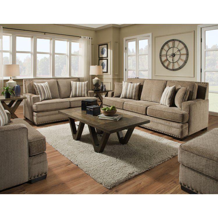 Best Darby Home Co Nakia 2 Piece Living Room Set Living Room 640 x 480