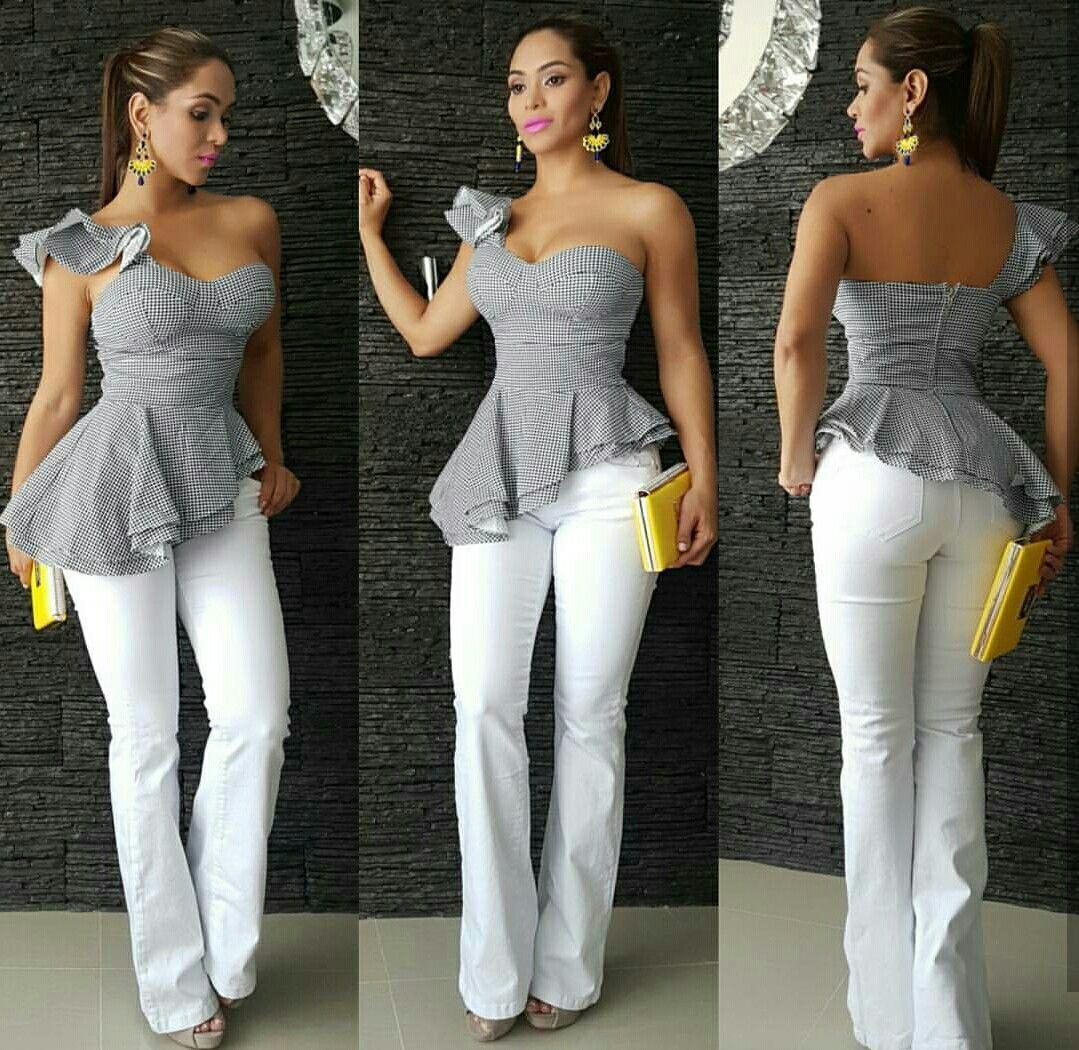 Blusas juveniles de moda elegantes