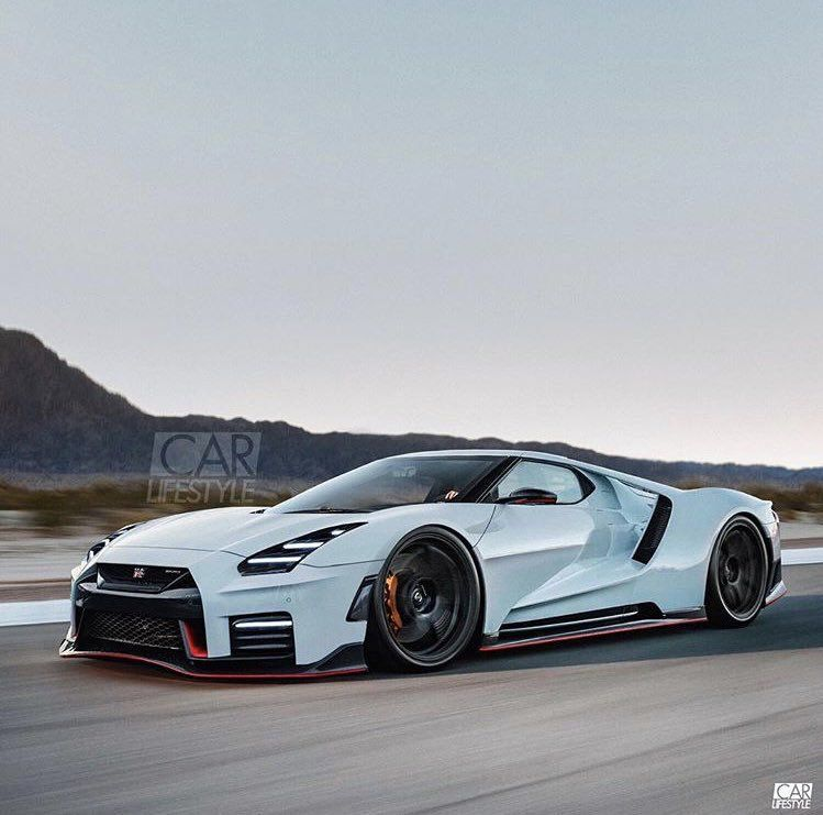 Ford Gt Nissan Gtr Combo Not Bad Super Cars Nissan Gtr Ford Gt