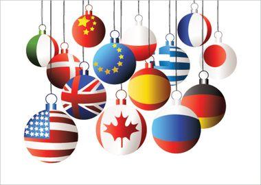 International Christmas Ornaments Crafts