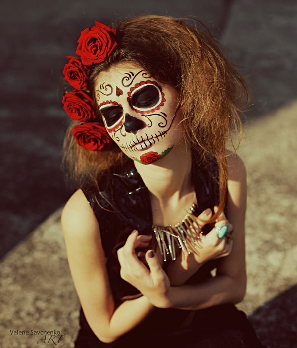 day of the dead makeup day of dead make dia de muertos pinterest dead makeup. Black Bedroom Furniture Sets. Home Design Ideas