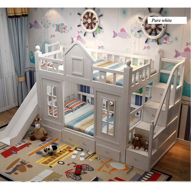 Online Shop 0128tb006 Moderne Kinder Schlafzimmer Mobel Prinzessin Schloss Mit Rutsc Kinderschlafzimmer Kleinkind Madchen Zimmer Gemeinsames Kinderschlafzimmer