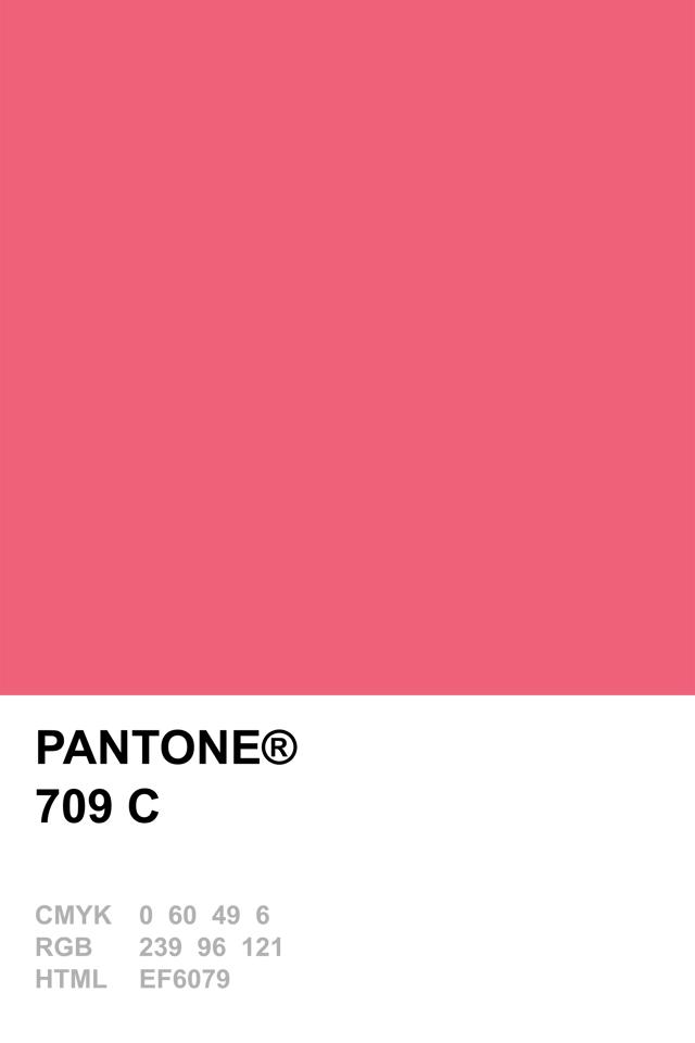 Pantone 709 C Pantone Pinterest Pantone And Pantone Color
