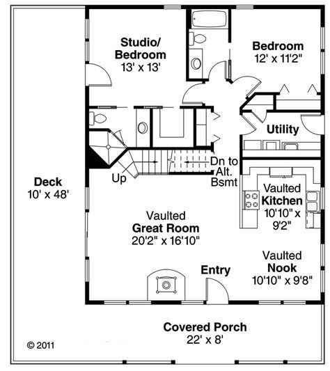 Country style house plans square foot home story bedroom and bath garage stalls by monster plan also best ashish images tiny small  rh pinterest