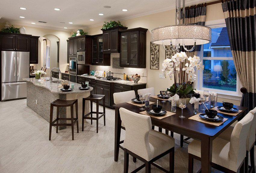 35 Luxury Kitchens With Dark Cabinets Design Ideas Dark Kitchen Cabinets Luxury Kitchens Kitchen Remodel Design