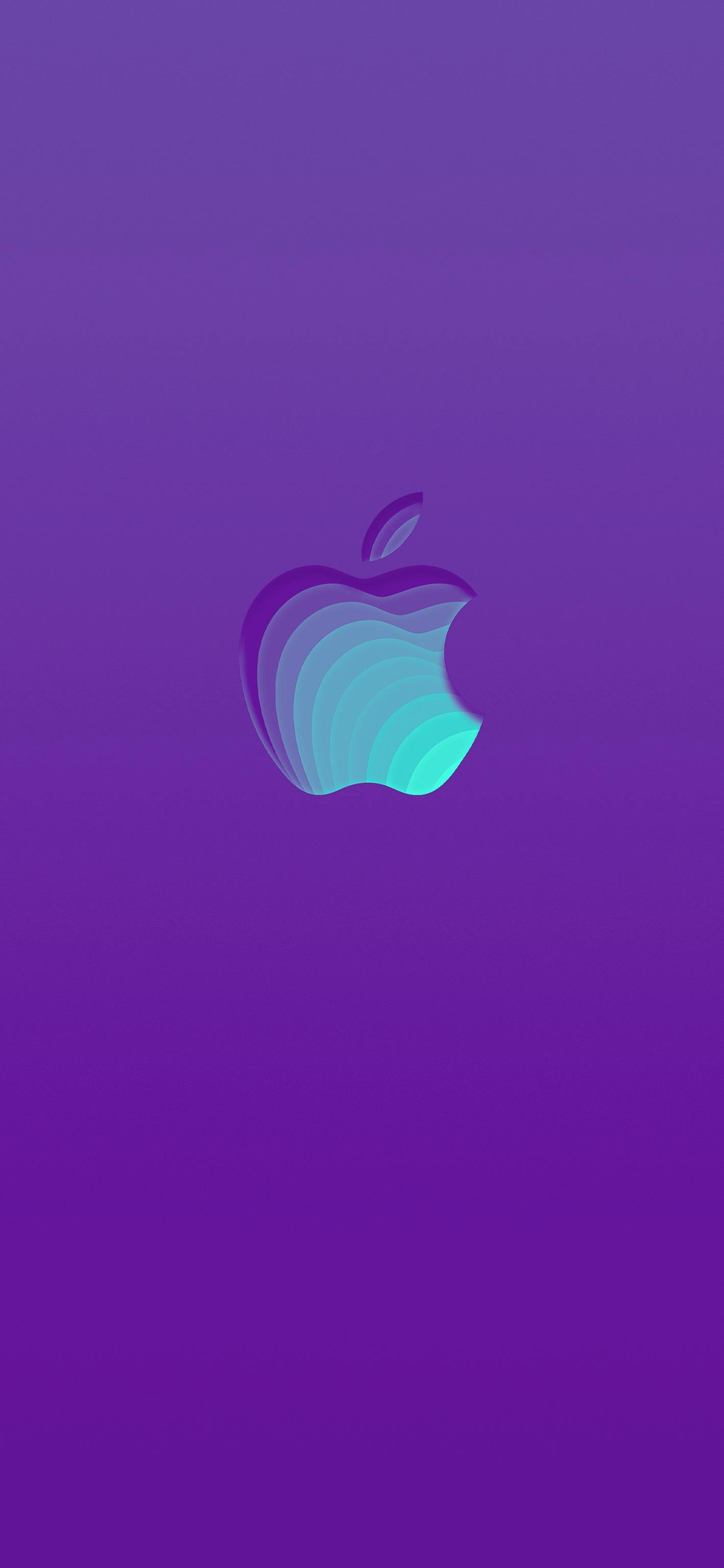 Ios13 Iphonewallpaper Apple Logo Colorful Darkmode