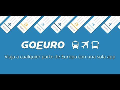 Con GoEuro encontrarás las mejores ofertas para viajar - http://www.androidsis.com/goeuro-buscador-viajes-android/