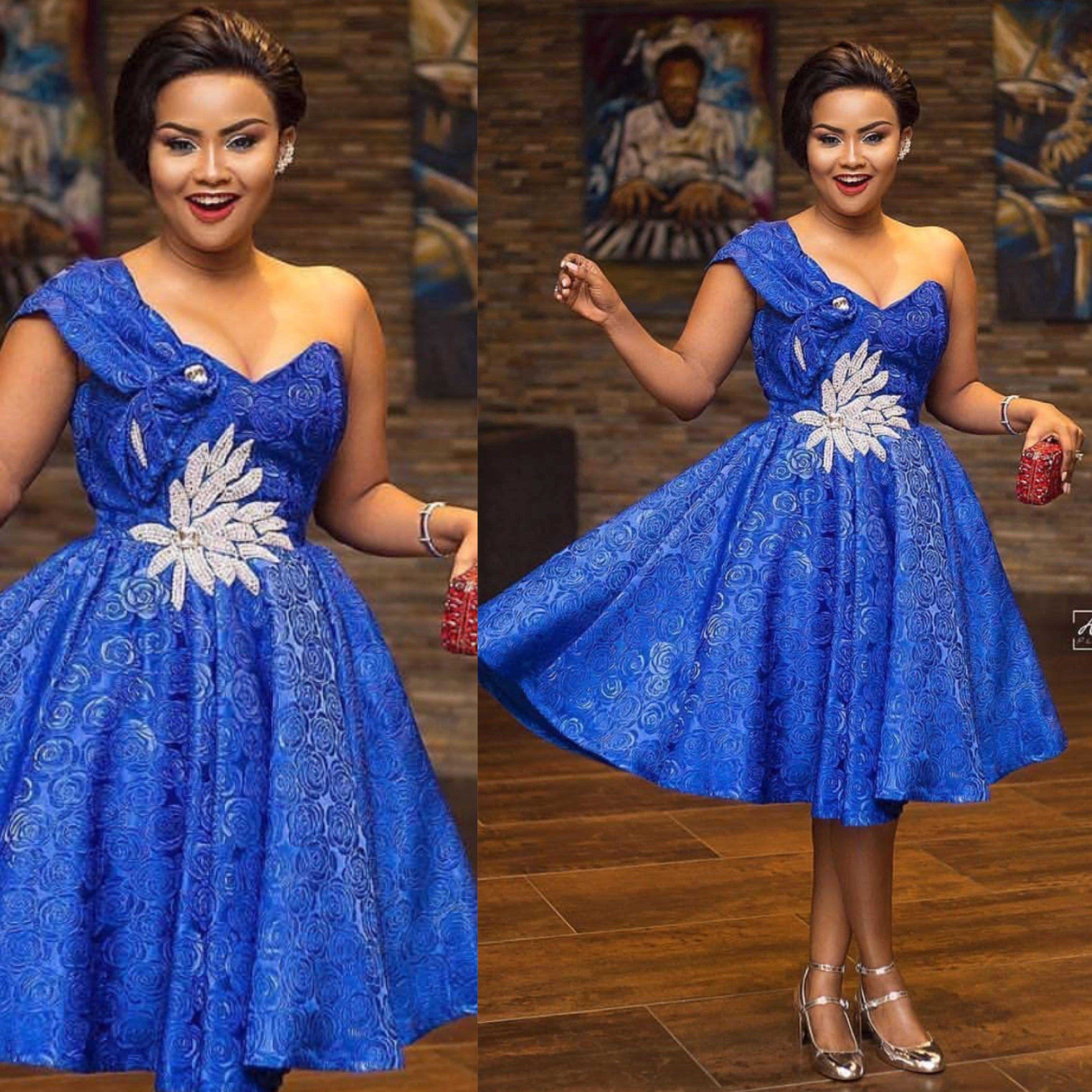 Asoebi Style African Print Fashion Dresses African Lace Dresses Latest African Fashion Dresses