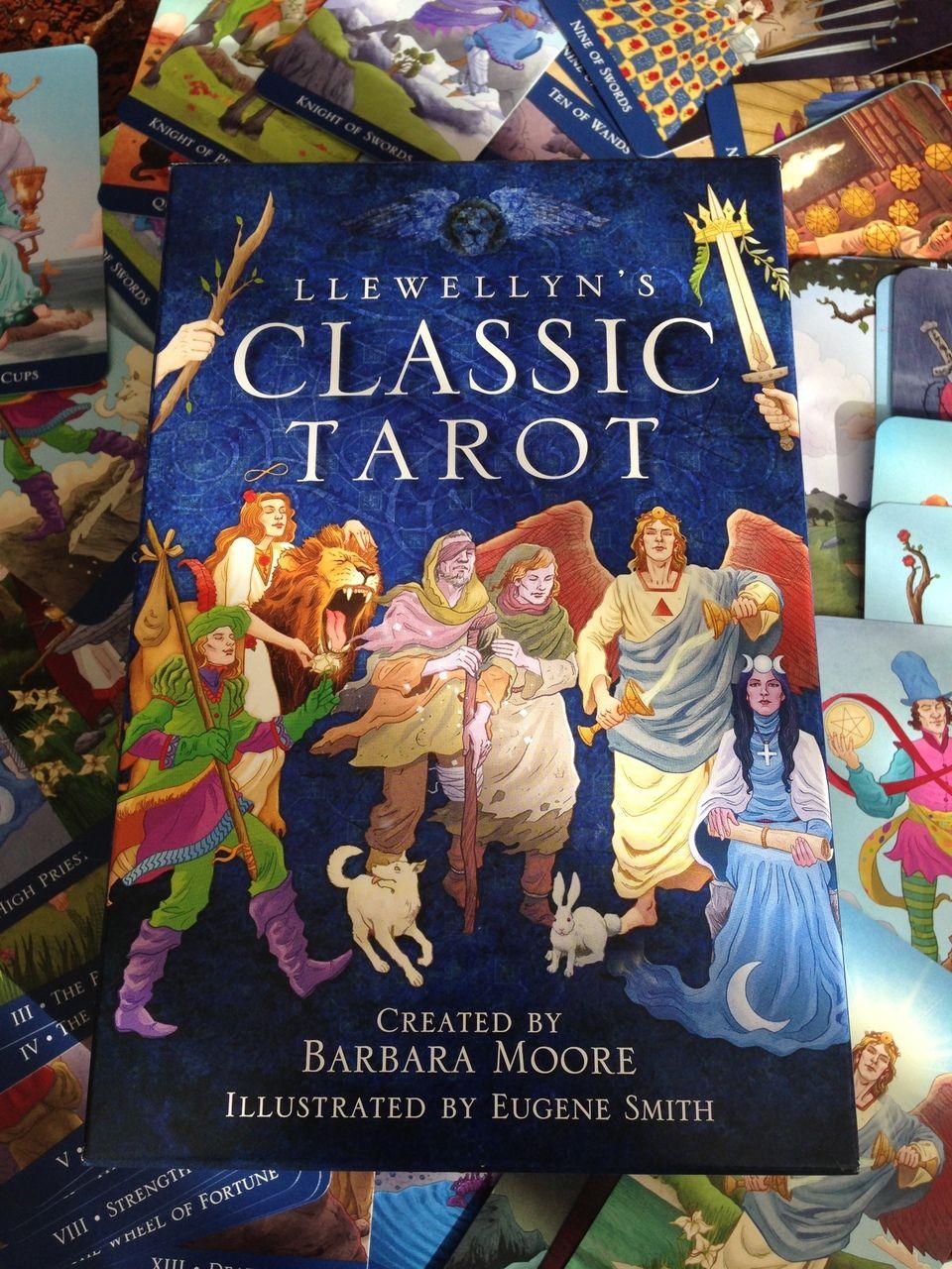 Llewellyn's Classic Tarot Deck created by Barbara Moore #metaphysical #SageGoddess #divination #Tarot #TarotDeck