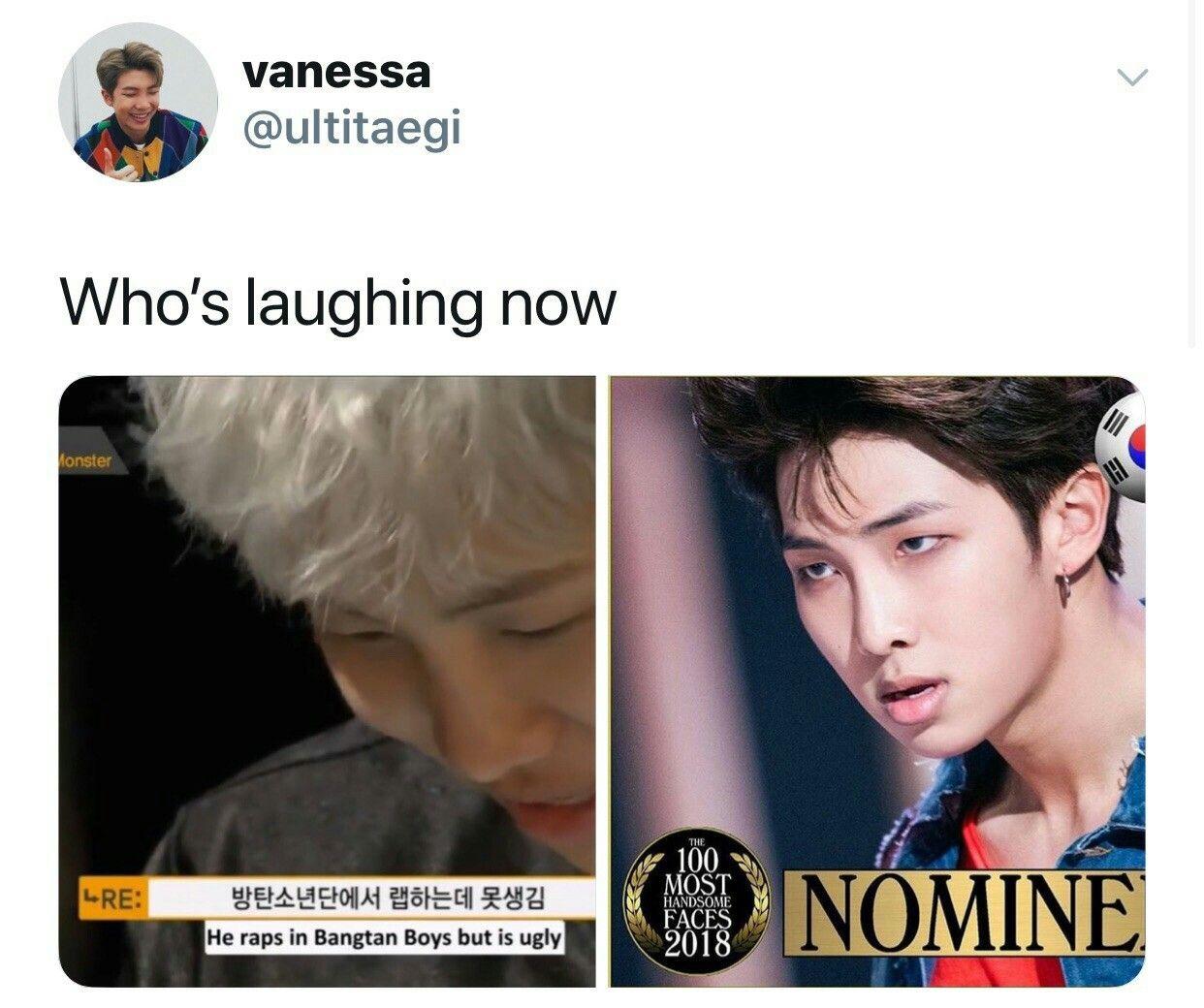 Rm Bts Kpop Memes Bts Bts Boys Bts Memes