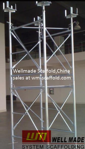China Scaffolding Manufacturers: Doka Formwork Frames-H Frame ...