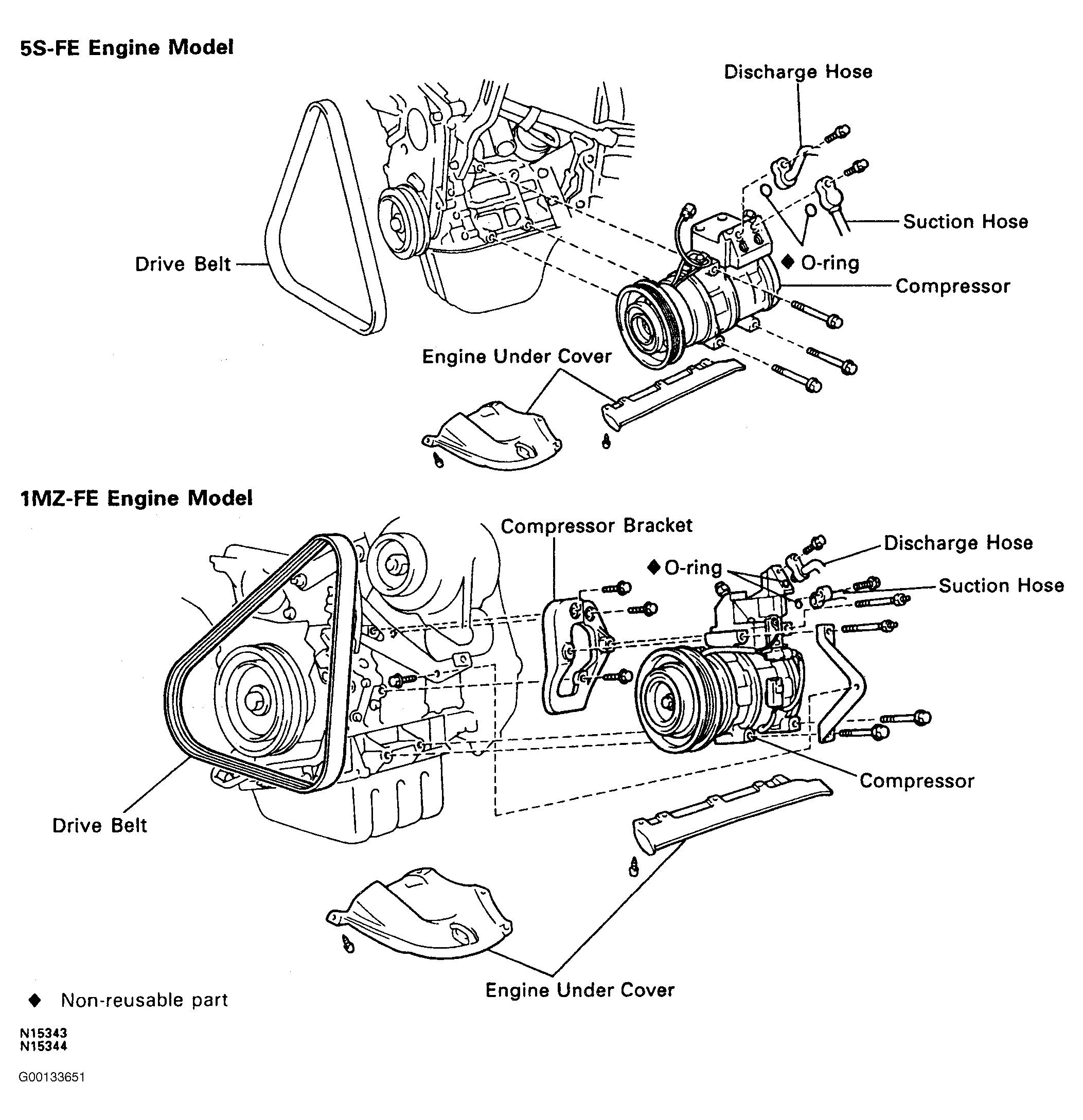 1994 Toyota Corolla Engine Diagram Di 2020