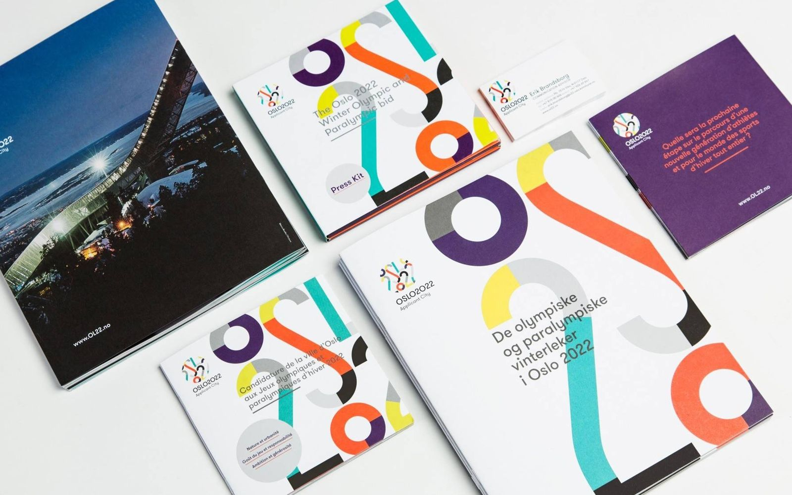 Oslo 2022 Winter Olympic & Paralympic Bid Grilli Type
