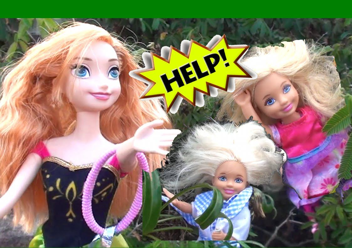 Anna and Elsa's Children In Trouble! Hans rescues Toddlers! Barbie Chels...