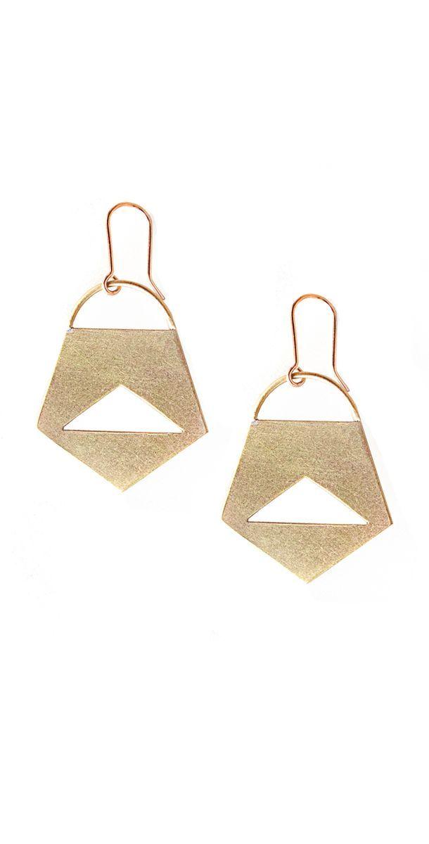 Small Penta Earrings