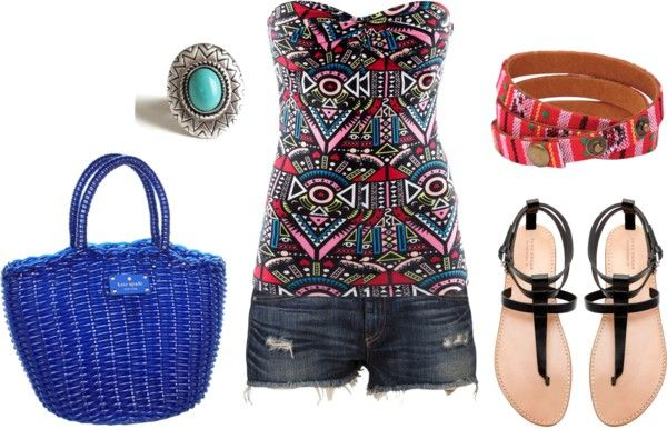 """Aztec"" by mcdowelln on Polyvore"