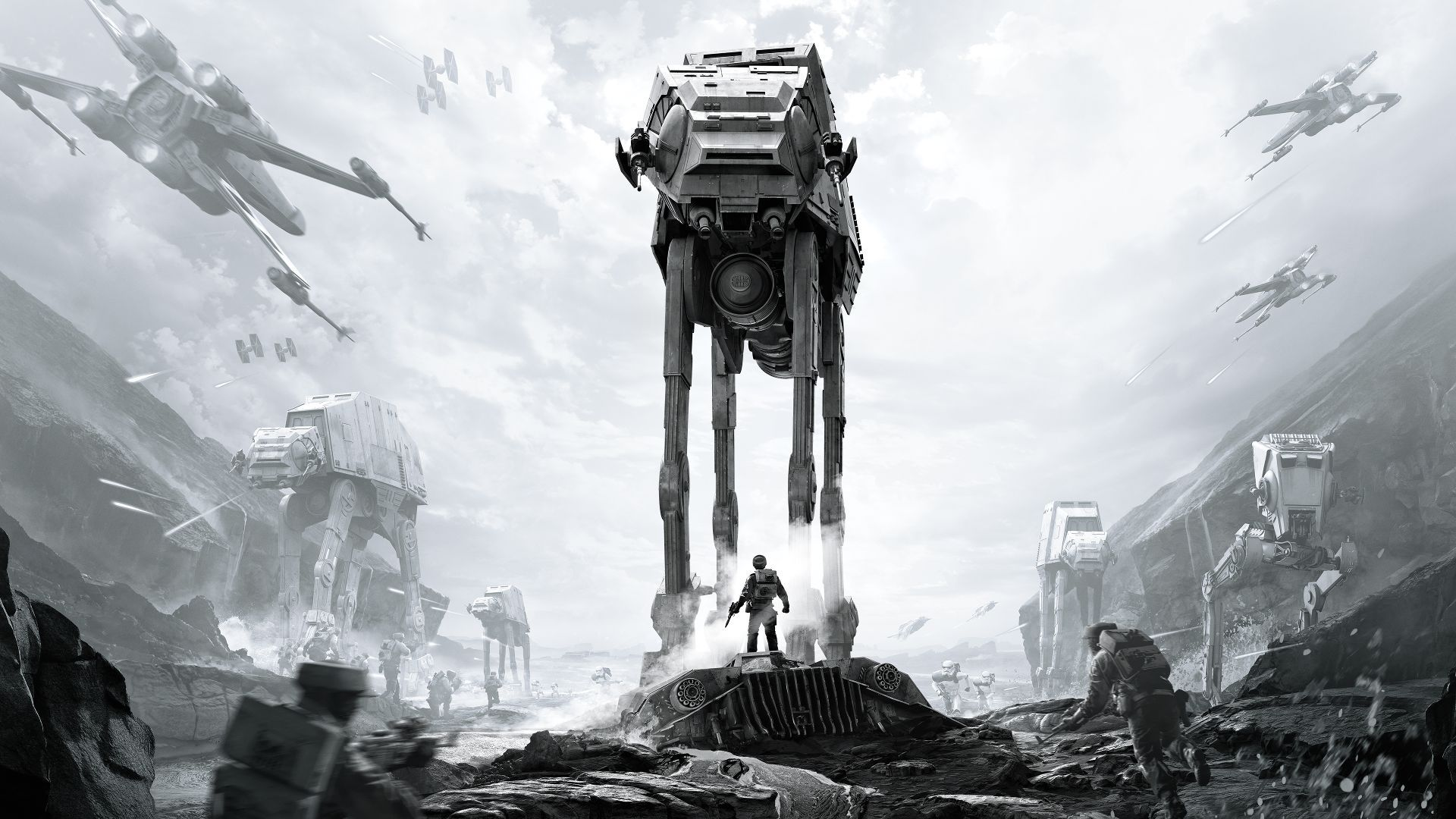 Star Wars Battlefront Ultimate Edition Re Releases November 18 Star Wars Wallpaper Wallpaper Star Wars Star Wars Canvas Painting