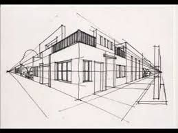 Resultado De Imagen Para Perspectiva 1 Punto De Fuga Perspectivas Arquitectura Arte En Perspectiva Punto De Fuga