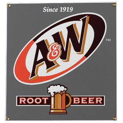 A/&W A /& W Rootbeer Root Beer Juke Box Retro Vintage Style Diner Sign Wall Clock