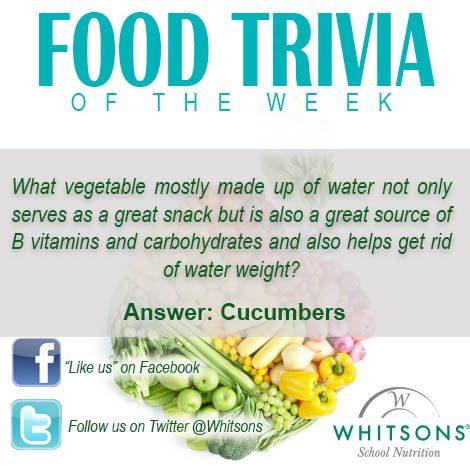 And now the answer to our # FoodTrivia Tuesday question of the
