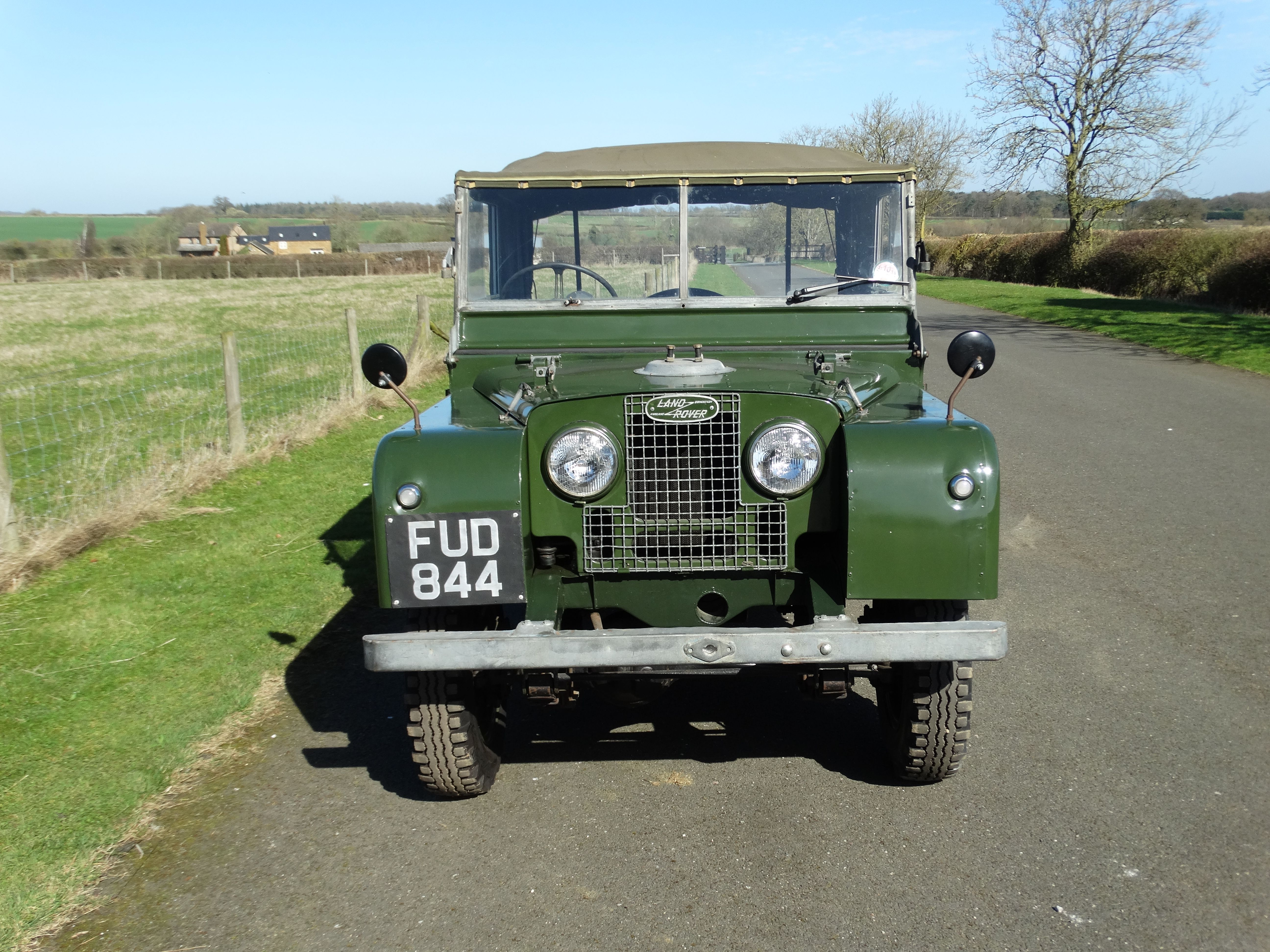 For Sale 1952 Land Rover Series 1 80 Inch Morse Classics
