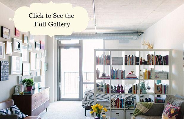 10 Tips for Decorating a Studio Apartment | Pinterest | Studio ...