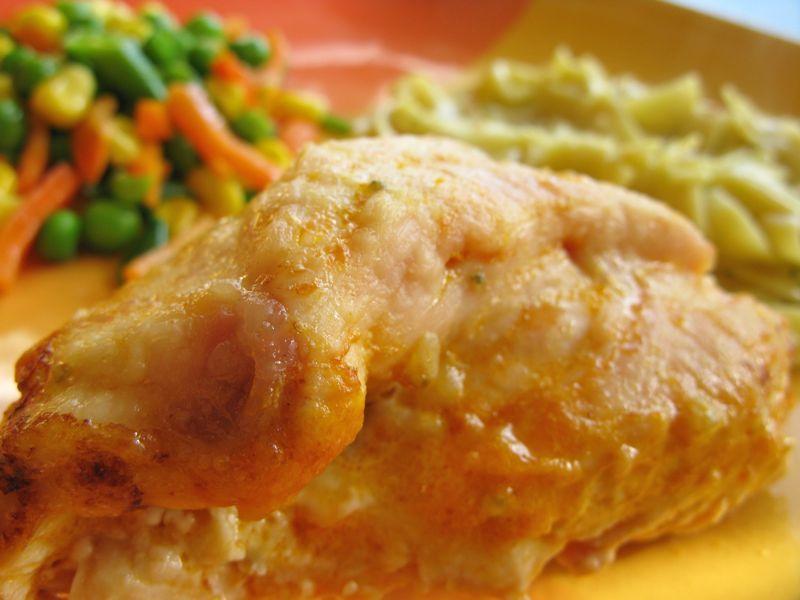Stuffed Buffalo Chicken - Dinner