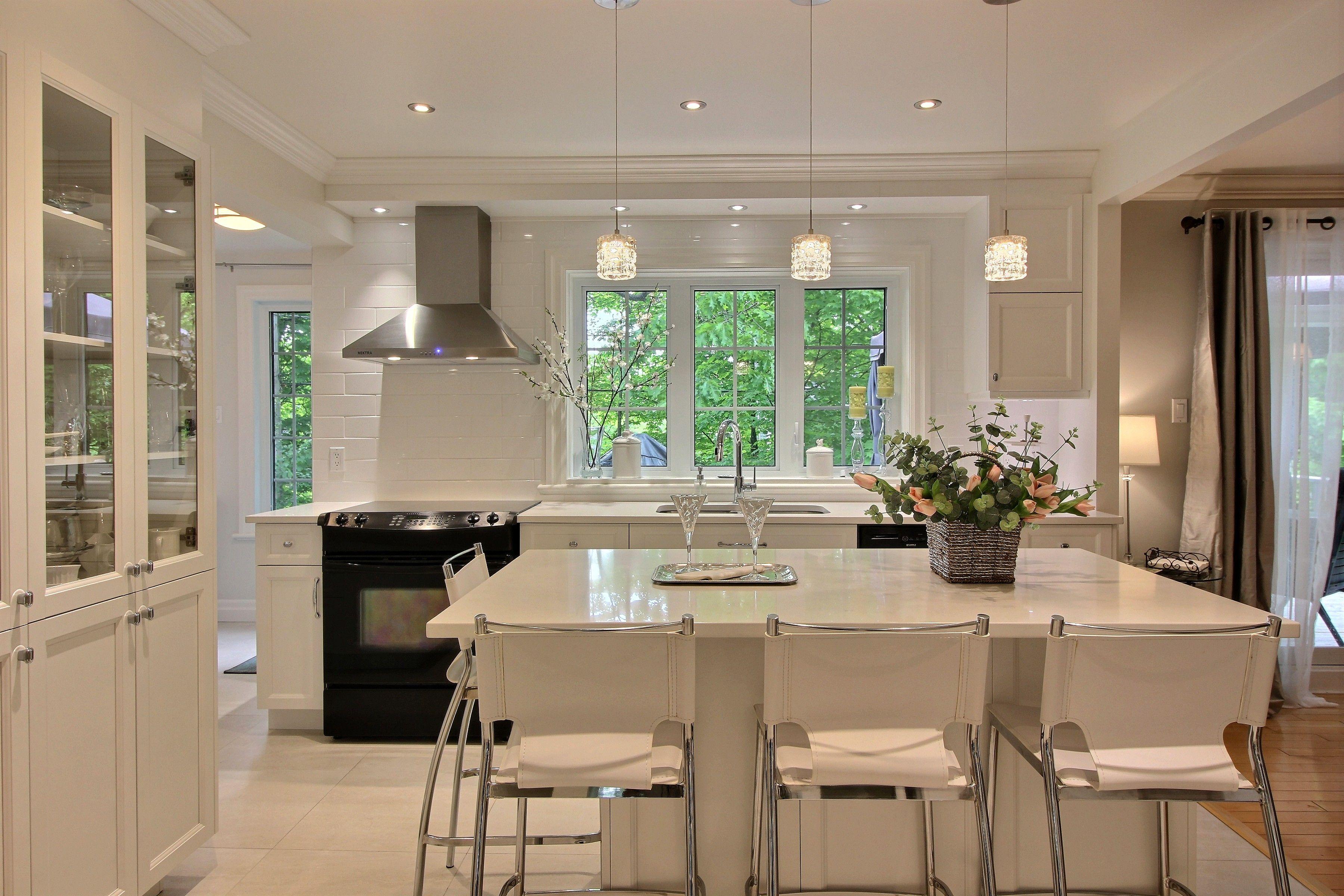 Cuisine Classique - Blanc - Projet Maison