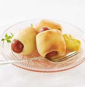 Mini Franks In Pastry Cute As A Button Miniature All Beef Franks