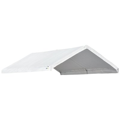 Shelterlogic Sheltercoat 12 X 20 Ft Garage Round Green Std Products In 2019 Canopy Frame Canopy White Canopy